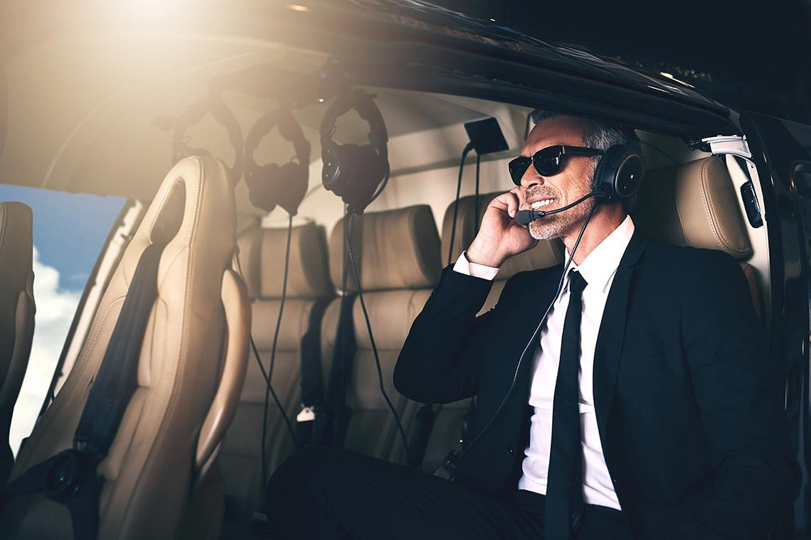 Executive Helicopter Charters in Richmond