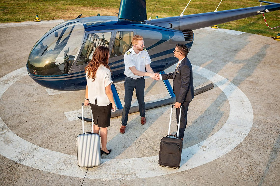 Specialty Helicopter Charters in Richmond